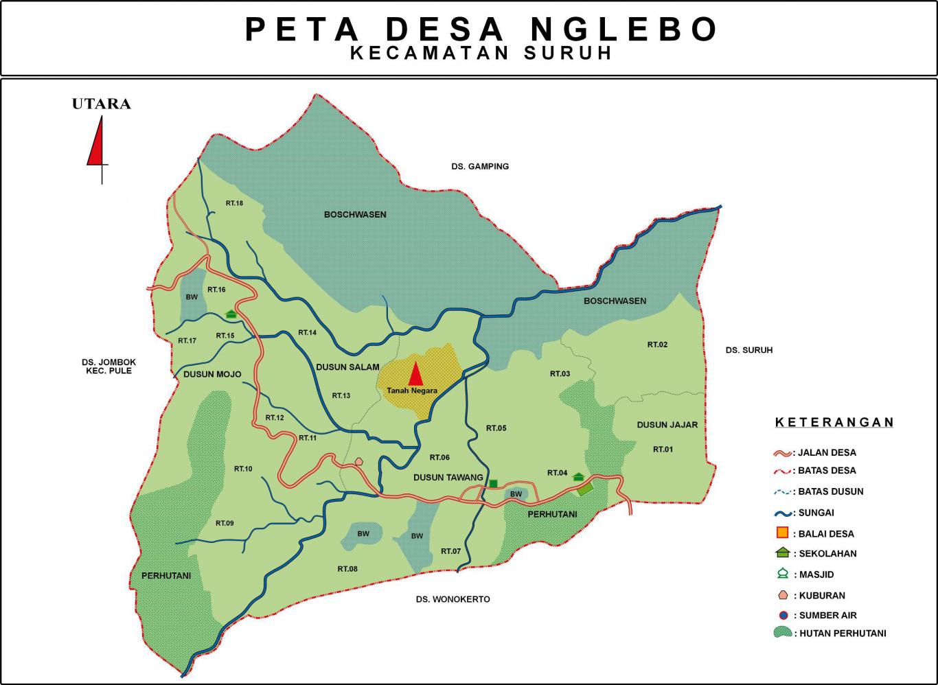 Kondisi Umum Desa - Website Desa Nglebo